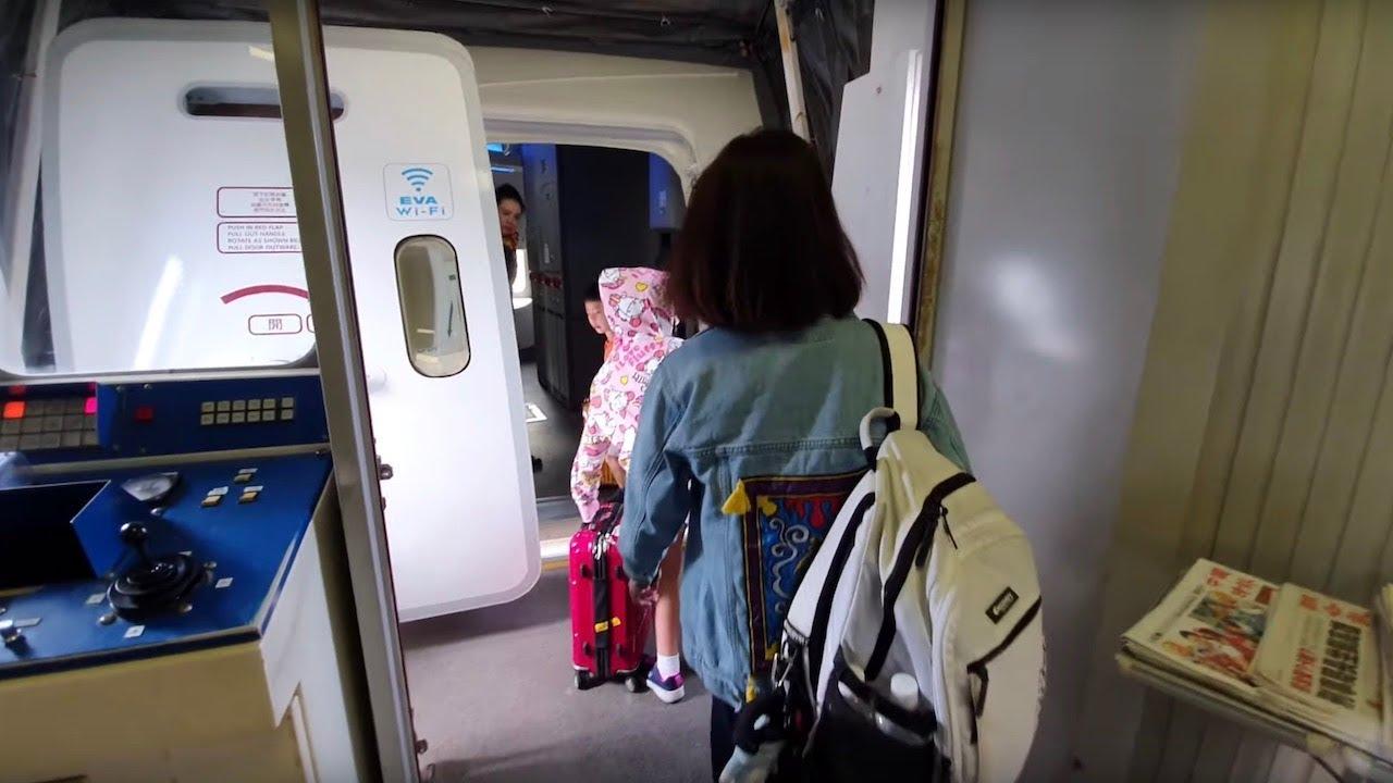飛行日記 長榮航空787-10商務艙登機|關西機場2號登機口 - YouTube