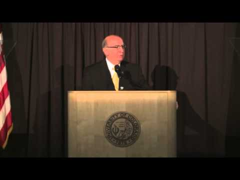 2013 CU-Boulder Chancellor State of the Campus