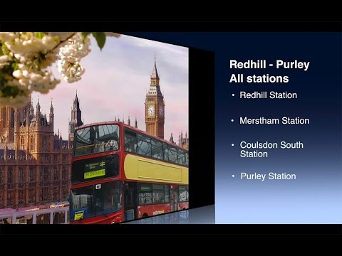 Redhill to Purley all stations Rail Replacement