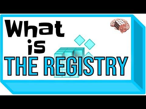 What is the Registry? (Basics Windows Registry Tutorial)
