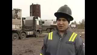 Как проводится ГРП - гидравлический разрыв нефтегазоносного пласта (ГРП)