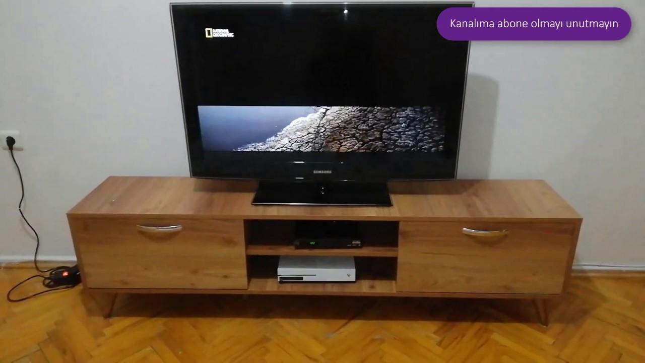 Aeron TV ünitesi Montaj BİM
