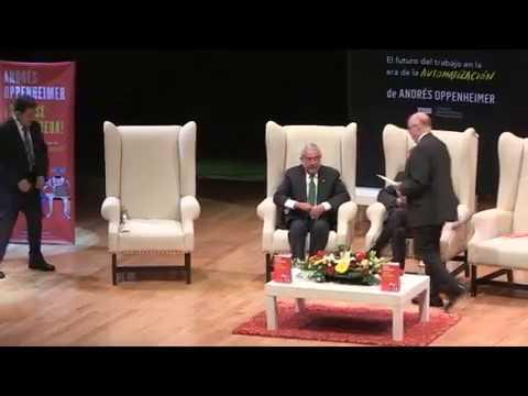 Presentación de ¡SÁLVESE QUIEN PUEDA! de Andrés Oppenheimer