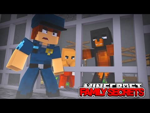 Minecraft FAMILY SECRETS - DONUT IS PUT IN PRISON FOR MURDER!!!! - Donut the Dog Minecraft Roleplay