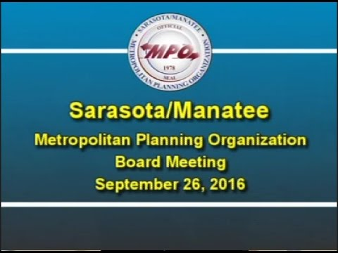 MPO Board Meeting 9/26/2016