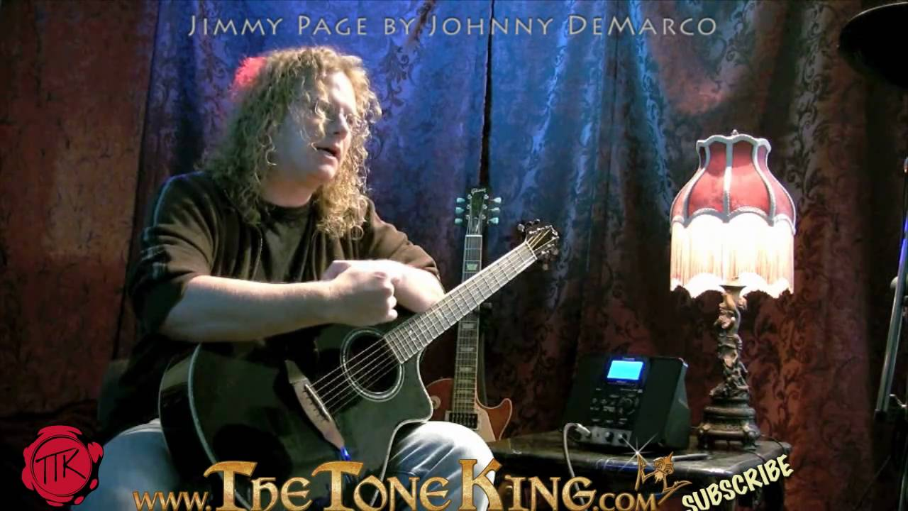 jimmy page by johnny demarco part 1 acoustic led zeppelin lesson tutorial bron yr aur. Black Bedroom Furniture Sets. Home Design Ideas