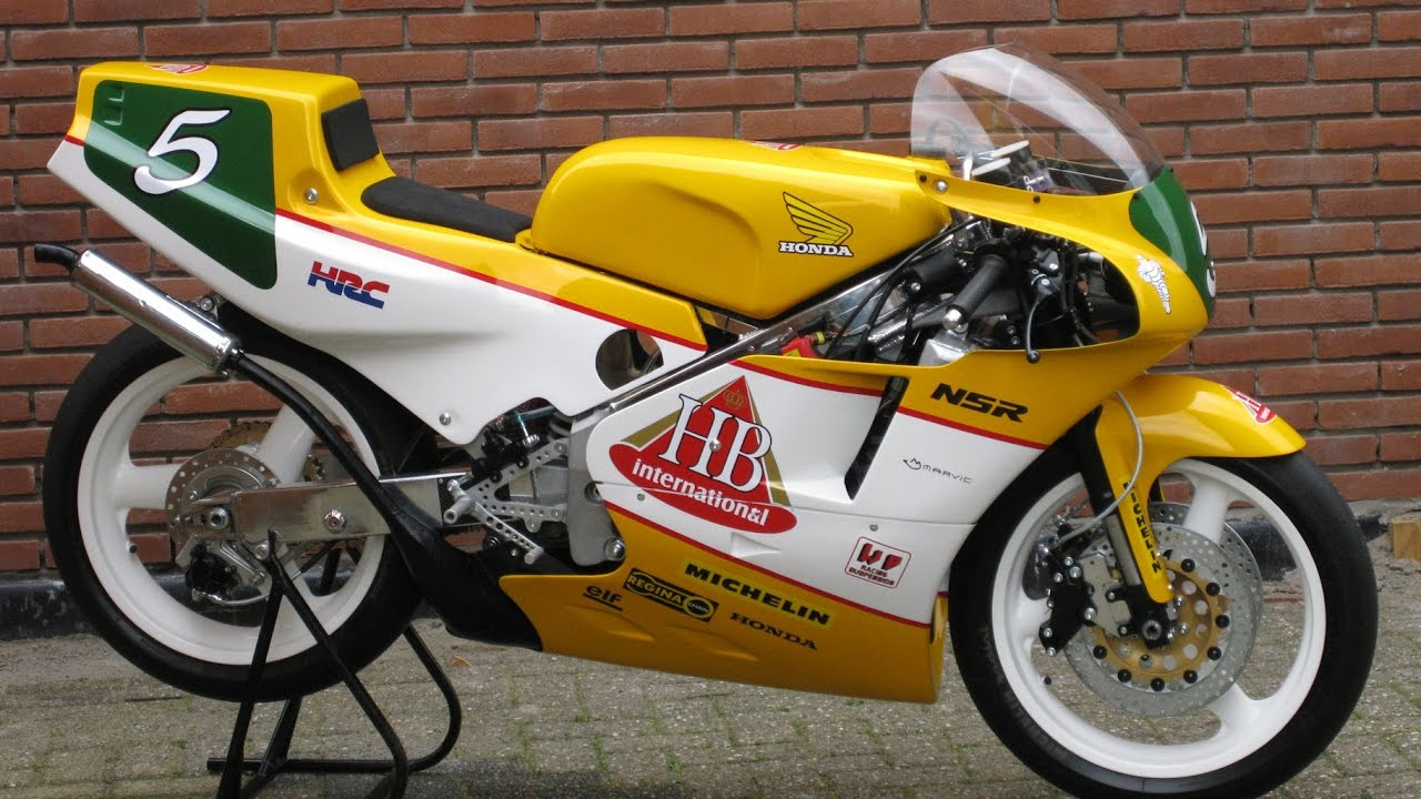Honda RS250 RF NF5 1988 Rebuild Picture Compilation YouTube