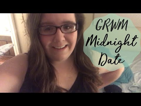 GRWM Midnight Date | Megan Anne