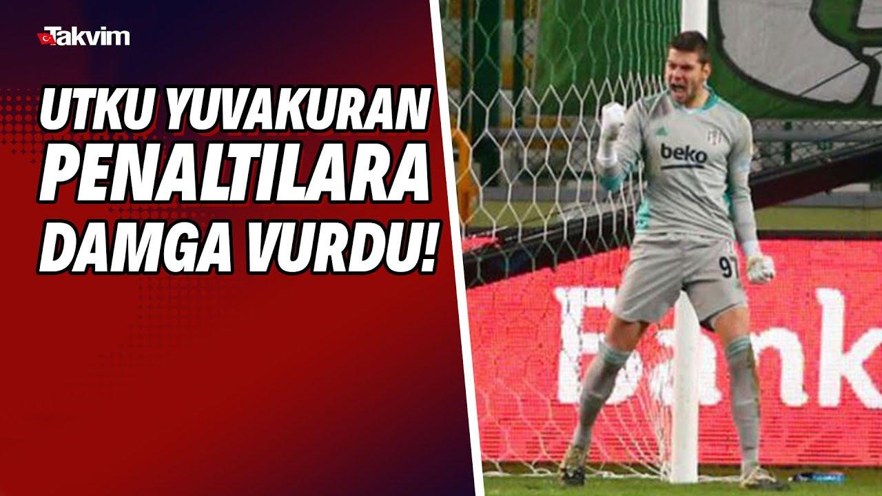 Beşiktaş'ın kalecisi Utku Yuvakuran penaltılara damga vurdu!