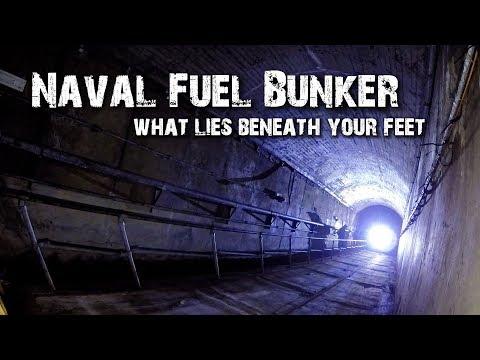 WW2 Secret Naval Fuel Bunker - 1
