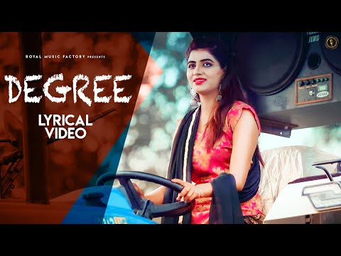 Degree (Lyrical) | Keshu Sampla, Sonika Singh, Sandeep Surila | New Haryanvi Songs Haryanavi 2020