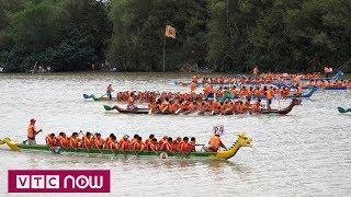 Sông Đà lại nhộn nhịp trong lễ hội đua thuyền