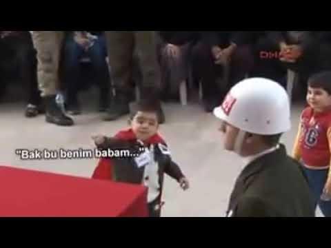 Şehit'in çocuğu