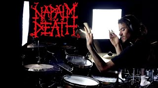 Napalm Death - Backlash Just Because - drum cover