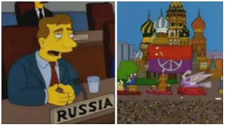 The Simpsons Season 9 Episode 19 points to 9/19/2017 and Morgan Freeman rant