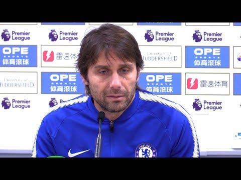 Huddersfield 1-3 Chelsea - Antonio Conte Post Match Press Conference - Premier League #HUDCHE