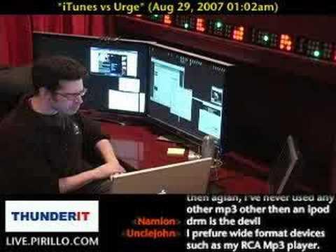 iTunes vs Urge vs Rhapsody