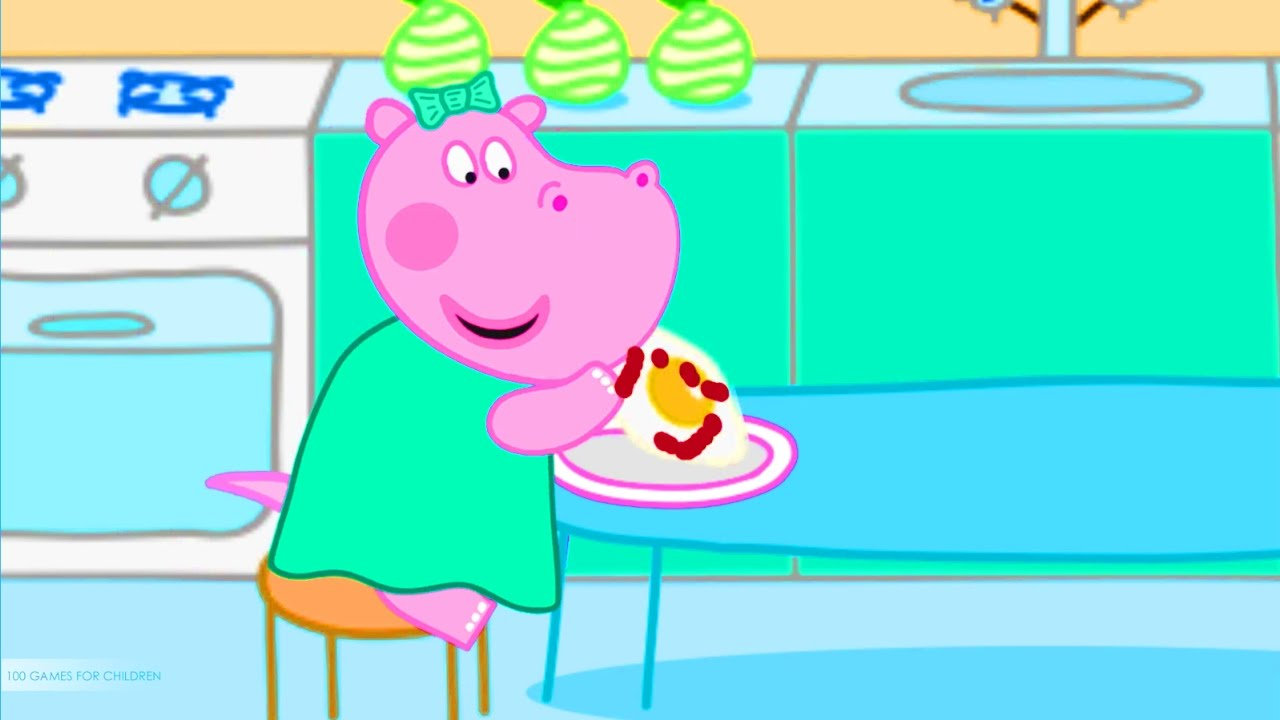 Baby cooking school - Chef Hippo Learning Kitchen & Cooking Game for ...