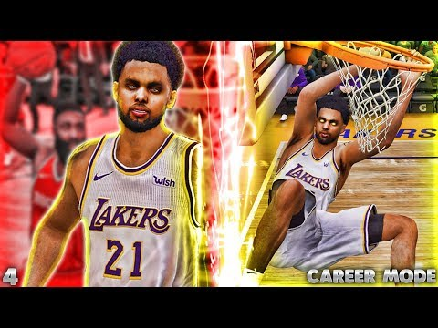 NBA LIVE 19 MyCareer Ep.4 - NEW SLASHER BUILD GETTING POSTERS!