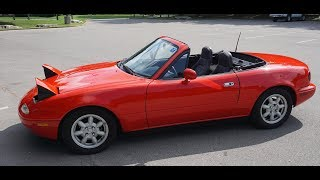 Miata Test Drive - I Might Be Getting My Hopes Up