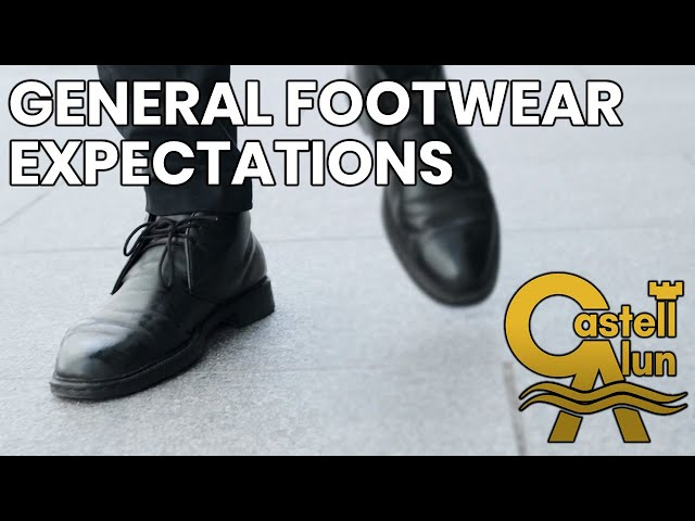 CAHS - General Footwear Expectations 2021