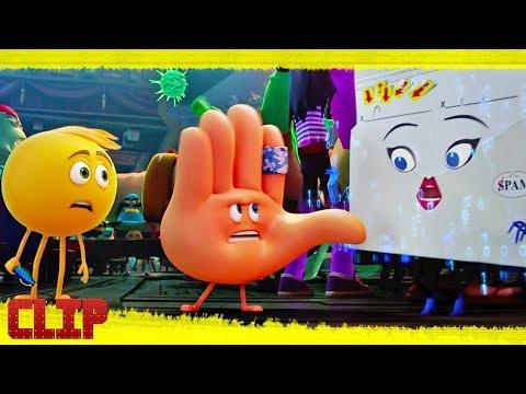 """Emoji: La película Clip """"Gene y Choca Esos 5 se van de aventuras"""" Español"""