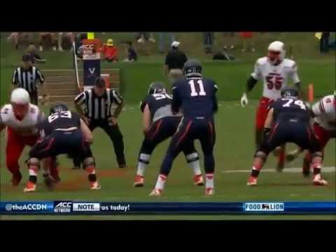 B.J. Dubose - Louisville Football - DE / DT - 2014 Virginia Game