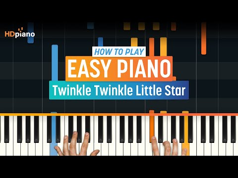 """How To Play """"Twinkle Twinkle Little Star"""" 