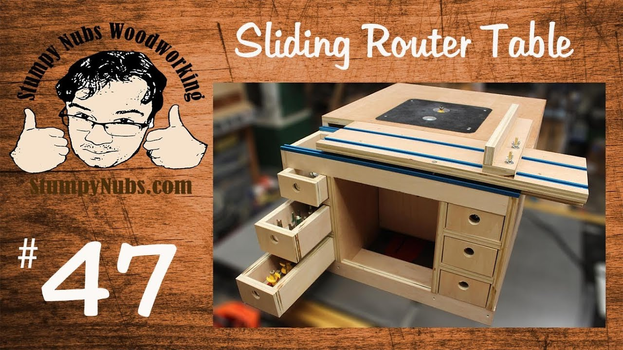 Snw47 build your own festool cms style homemade router table with snw47 build your own festool cms style homemade router table with sliding table youtube greentooth Gallery
