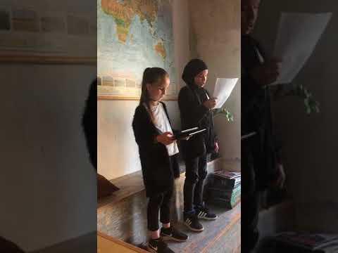 VerdensBørn Grundskole Maj 2018, Poetry Slam, Ayah & Sumaia