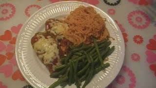Baked Chicken Parmigiana Recipe ~ Noreen