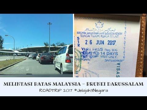 Melintasi Batas Malaysia 🇲🇾 - Brunei Darussalam 🇧🇳 | Roadtrip 2017 #Jelajah3Negara | irene ijoli