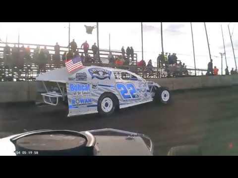 5-4-19 Macon Speedway pro mod hot laps car 82 John Lowe