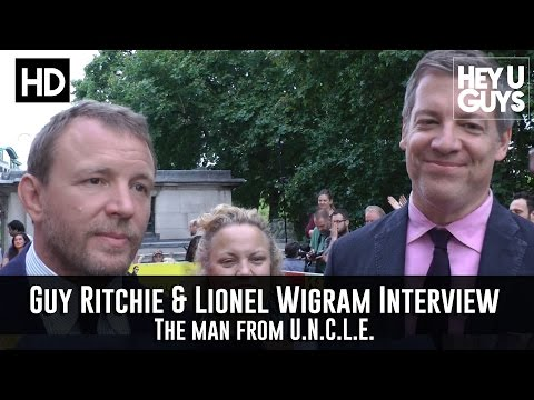Guy Ritchie & Producer Lionel Wigram Interview - Man from UNCLE Premiere