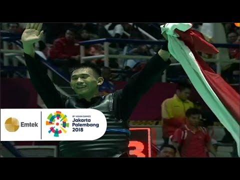 Detik-Detik Iqbal Candra Menyabet Emas dari Pencak Silat | Asian Games 2018
