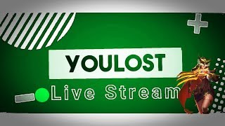 youlost - aynasız - Jin - Paranoid - İtachi Canlı Yayın - Mobile Legends Live Stream - For Patient