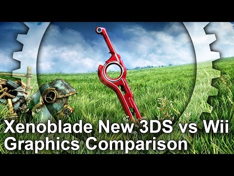 Xenoblade Chronicles New 3DS vs Wii Graphics Comparison