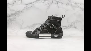 19SS Dior B23 Oblique Sneakers From