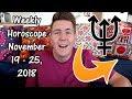 Weekly Horoscope for November 19 - 25, 2018 | Gregory Scott Astrology