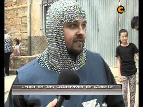 Desfile tropas en el XIV encuentro del Mio Cid