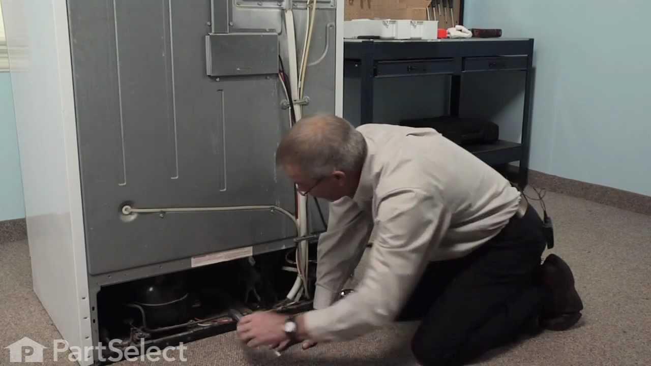 medium resolution of refrigerator repair replacing the condenser fan motor kit whirlpool part 833697 youtube