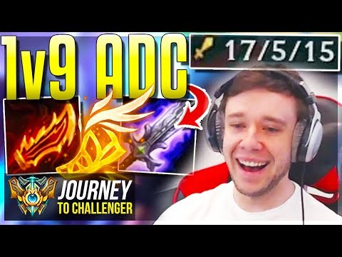 THIS ADC CAN 1v9 GAMES QUITTING KAISATWITCH - Journey To Challenger  League of Legends