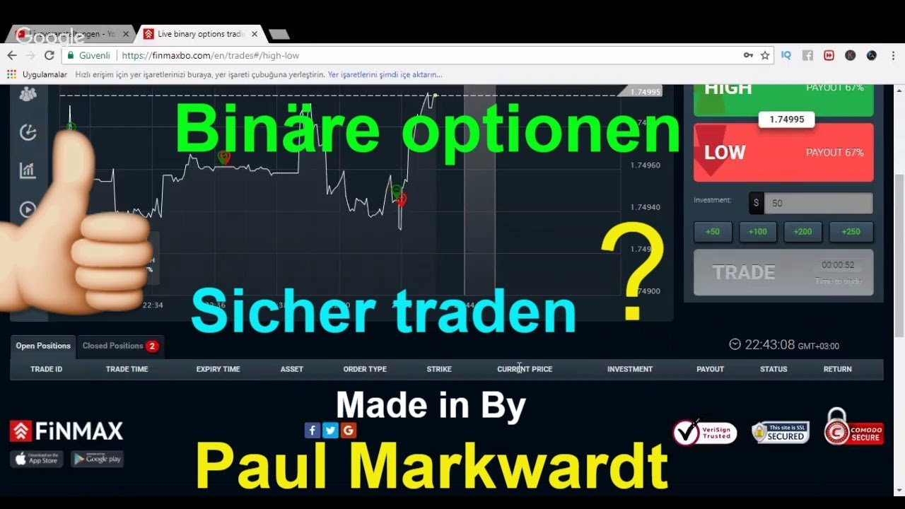Europa trading binary options free money