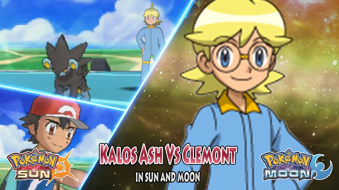 Pokemon Sun And Moon Kalos Ash Vs Clemont Pokemon Xyz