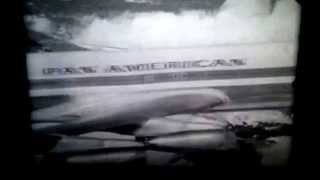 PAN AMERICAN TV SPOT BUE-JFK-EUROPE 1960