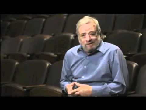 Sondheim on Teachers and Oscar Hammerstein