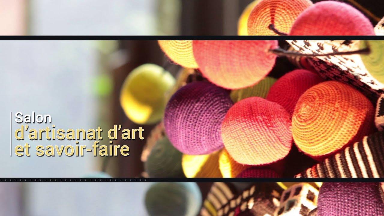 Salon d 39 artisanat d 39 art no l avant l 39 heure 2015 youtube for Salon artisanat d art