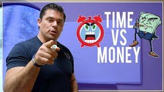 Time Vs Money Quadrant - Financial Education