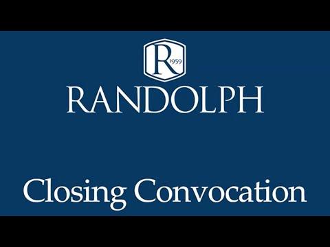 2020 Randolph School Closing Convocation