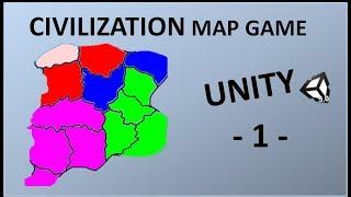 CIVILIZATION ANDROID GAME - 1 - UNITY DERSLERİ -  HARİTA YAPALIM
